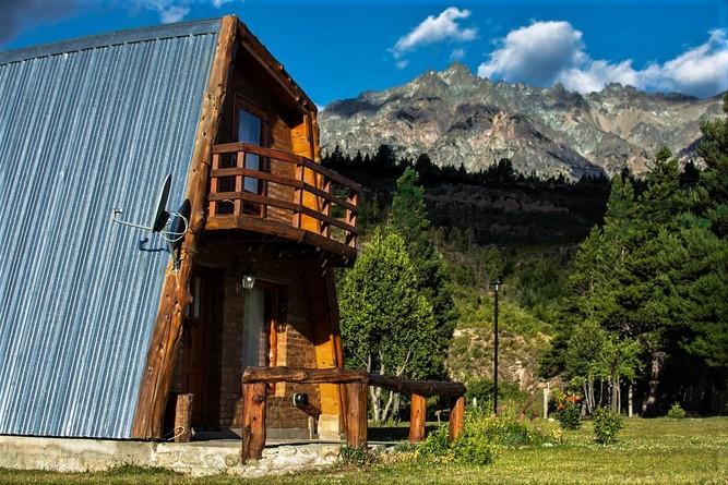Alquiler temporario de cabaña en Cushamen
