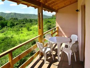 Alquiler temporario de cabaña en Villa gral. belgrano