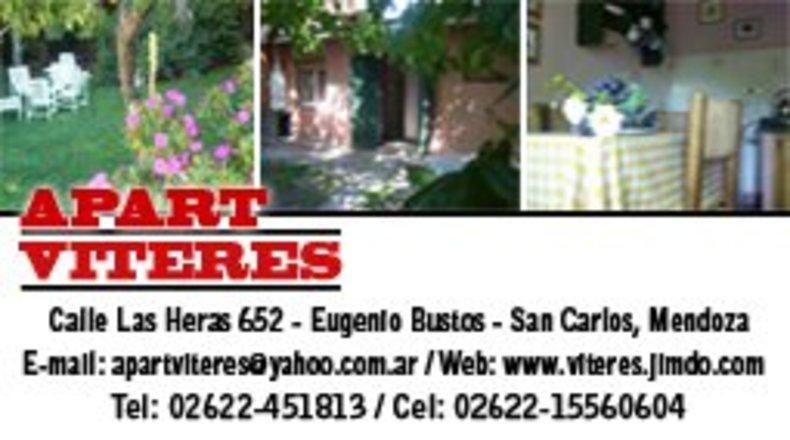 Alquiler temporario de departamento en Eugenio bustos, san carlos
