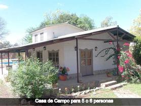 Alquiler temporario de cabaña en Vaqueros
