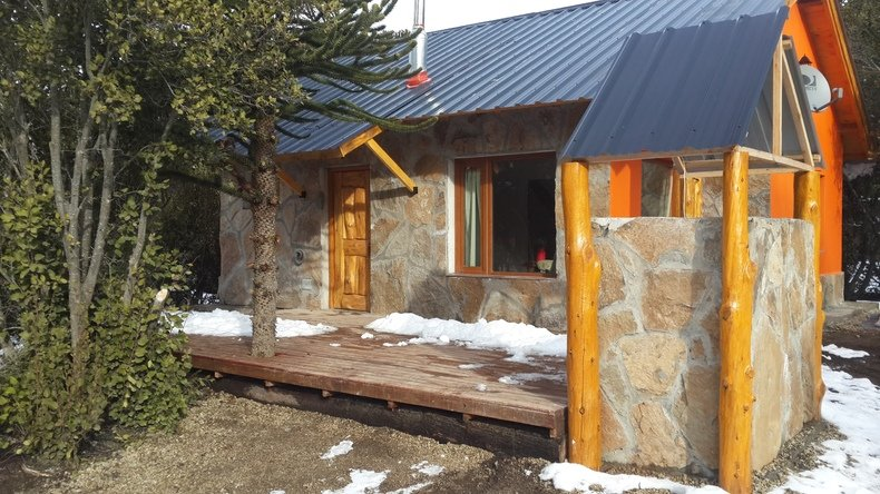Alquiler temporario de cabaña en Aluminé