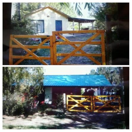 Alquiler temporario de cabaña en Tunuyán