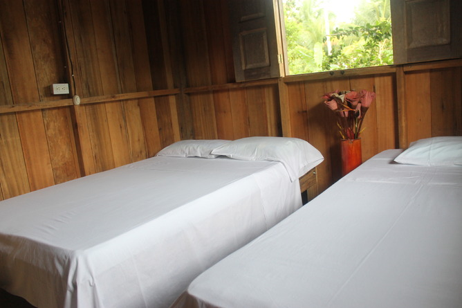 Arriendo temporario de cabaña en Bahia solano