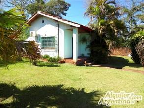 Alquiler temporario de casa en Puerto iguazú