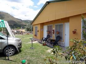 Alquiler temporario de cabaña en La caldera