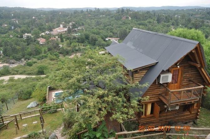 Alquiler temporario de cabaña en Córdoba