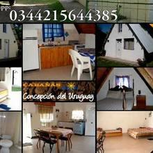 Alquiler temporario de cabaña en Concepción del uruguay
