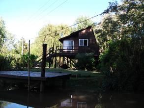 Alquiler temporario de cabaña en Delta del tigre