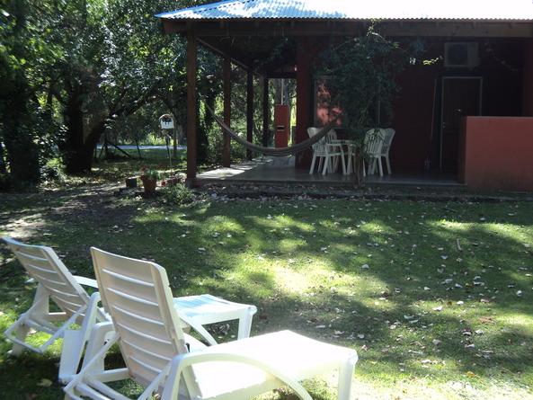 Alquiler temporario de cabaña en Tandil