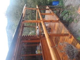 Alquiler temporario de cabaña en Lácar