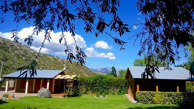 Alquiler temporario de cabaña en Potrerillos - mendoza